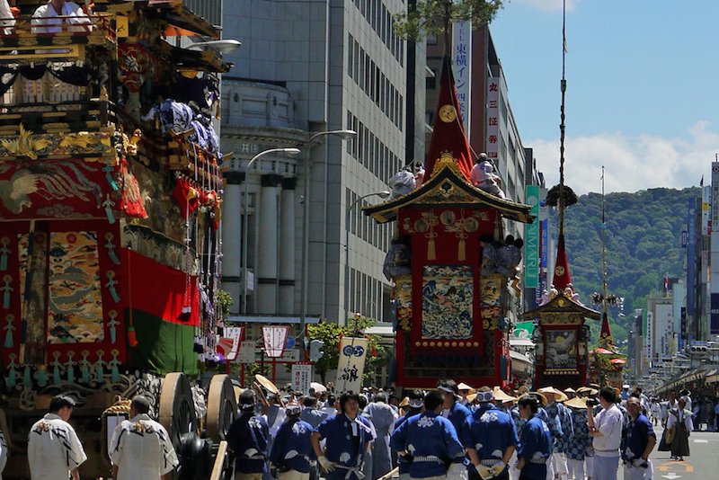 July 2016, Kyoto's Summer tradition