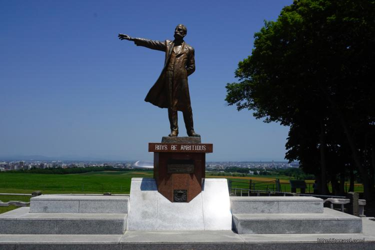 One of the best view spot in Sapporo! With the Statue of Dr. Clark and overlooking the Ishikari plain. Let's enjoy the Hitsujigaoka Observation Hill!