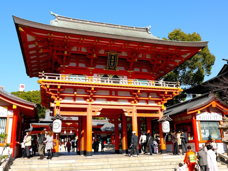 Let's visit Ikuta Shrine in Sanyomiya in Kobe,the famous spiritual place for love and marriage!