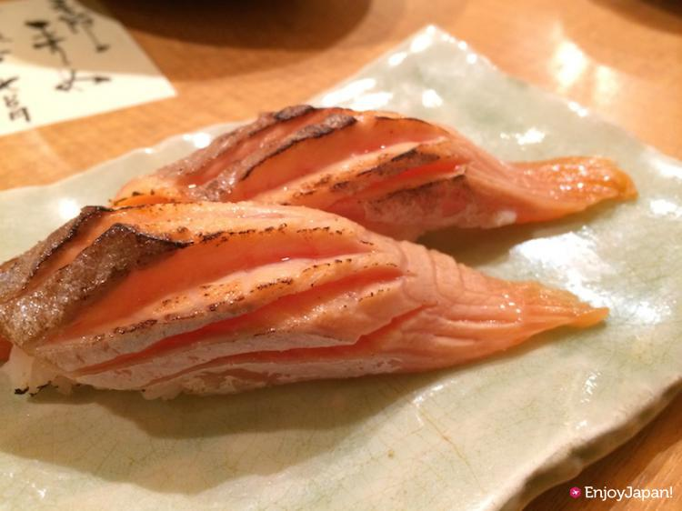 Broiled Salmon of Pontocho Kappa Sushi