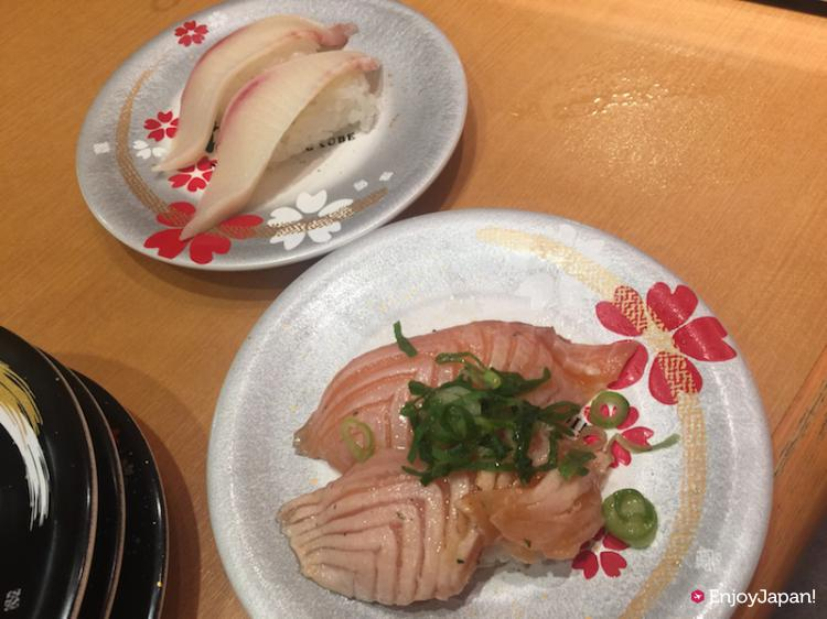 Nigirizushi (Hand shaped Sushi) of Nigiri-no-Tokubei