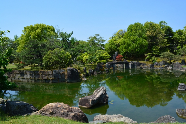 Nijo Garden of Nijo Castle