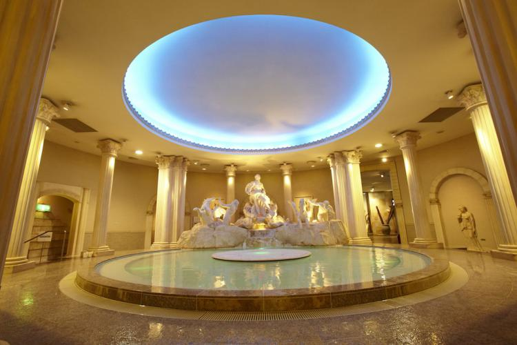 Spa World's Ancient Rome Bath
