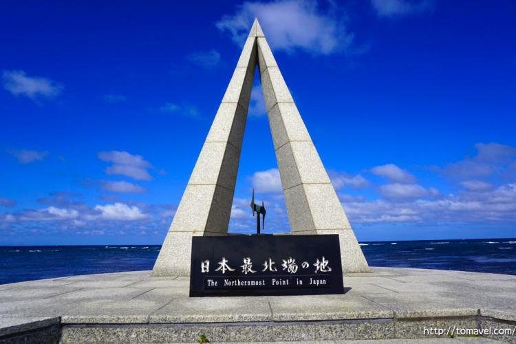 Soya Misaki cape, Japan's Northernmost land in Hokkaido! Let's go to see superb view of morning glow and sunset from a monument in Japan's Northernmost land!